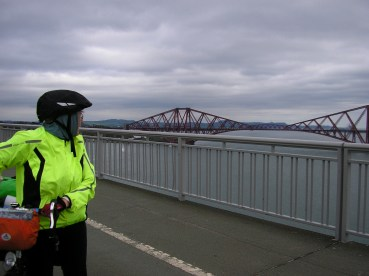 We were getting braver on the bridges by now..