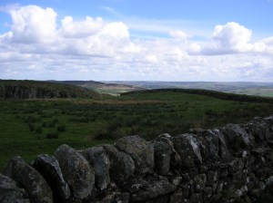 Approaching Hadrian's Wall