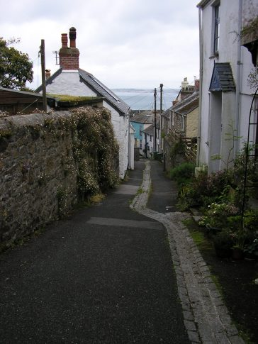 Mousehole - all hills!