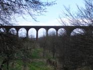Railway viaduct from NCN7