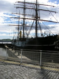 Captain Scott's ship Discovery (Dundee)