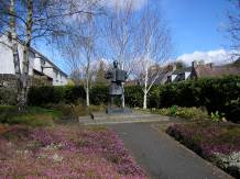 Jimmy Shand memorial, Auchtermuchty