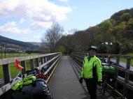 Cycle path crosses the Tweed