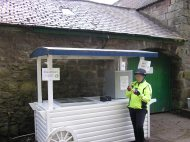 Serve yourself IceCream at Doddington - must be warmer?